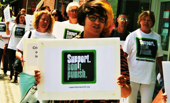 Toronto does #supportdontpunish