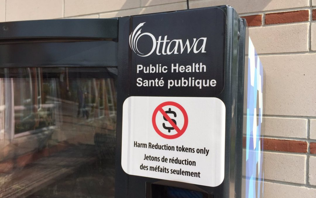 Ottawa's Move for Harm Reduction via Vending Machines