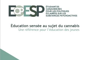 L'éducation des jeunes sur le cannabis